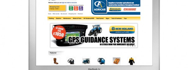 Agricar Online Store