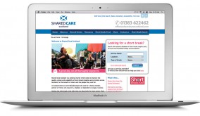 Shared Care Scotland – Website