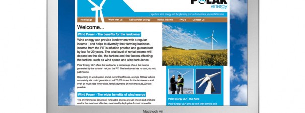 Polar Energy Website